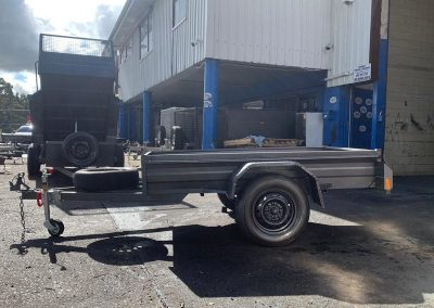 6x4 Heavy Duty Box Trailer (1)