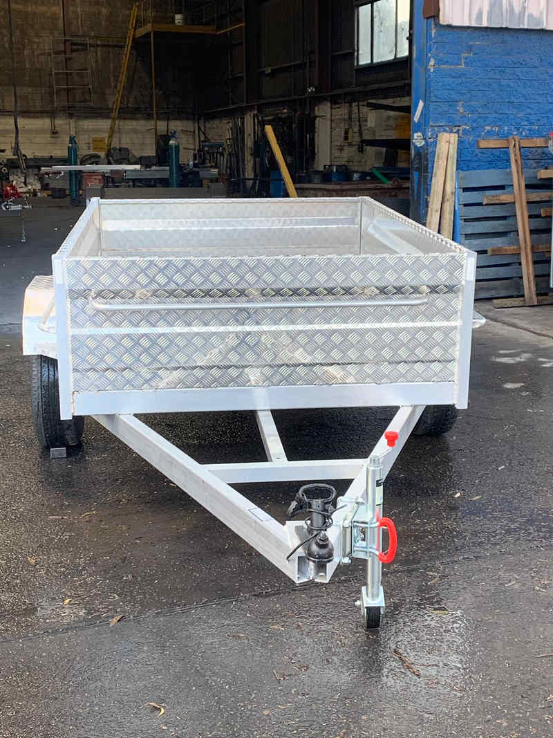 7 5 Heavy Duty Aluminum Box Trailer National Trailers Campers